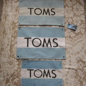 Toms Shoe Bag and Two 2 Banners